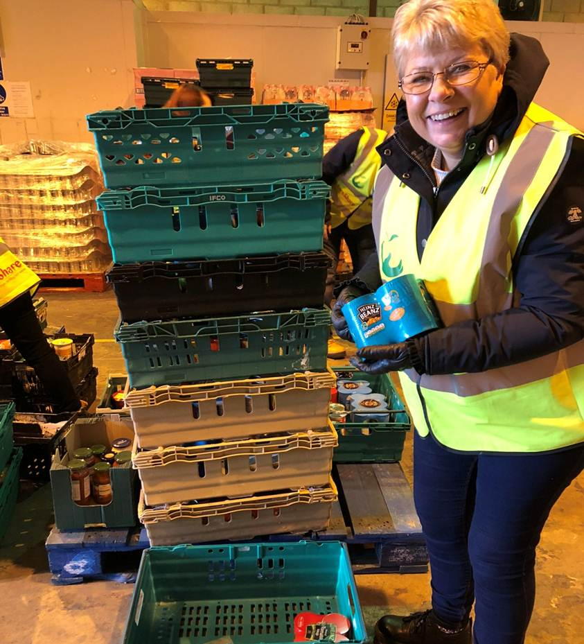 FareShare volunteering Tracyjpg
