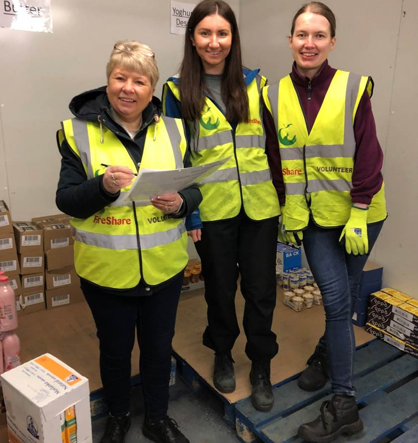 FareShare volunteering group