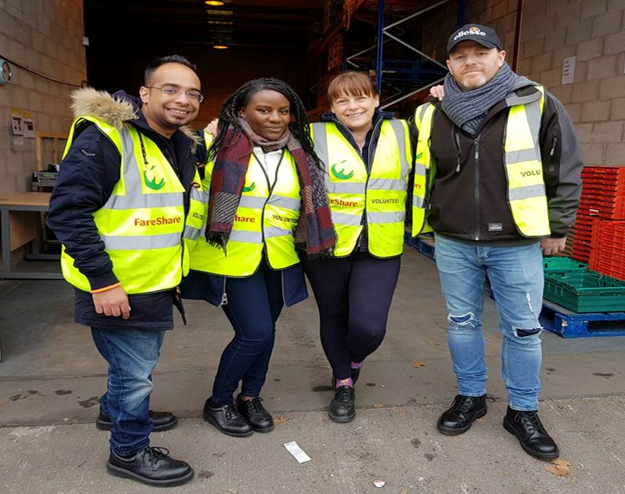 FareShare volunteers