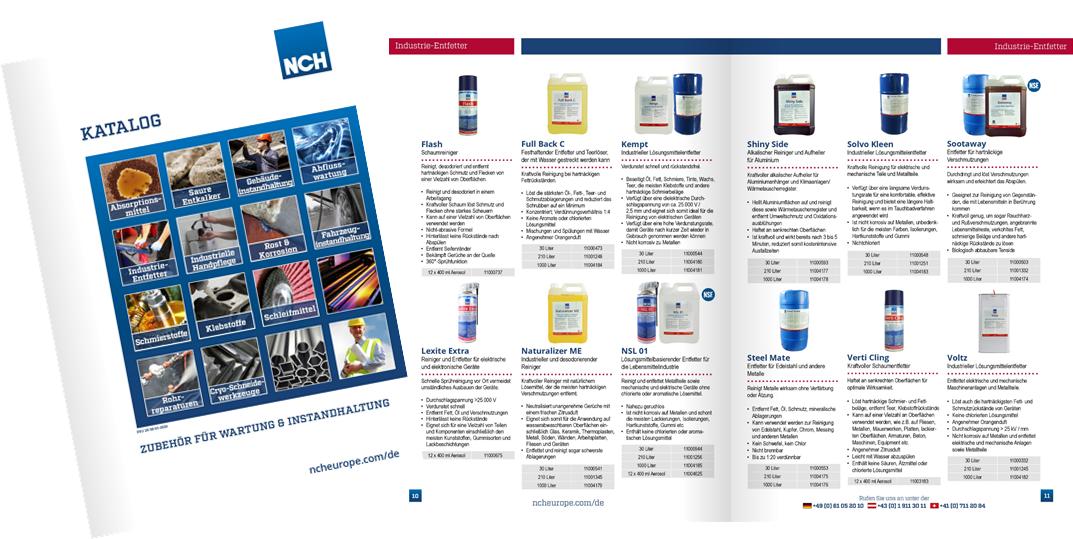 german product catalogue