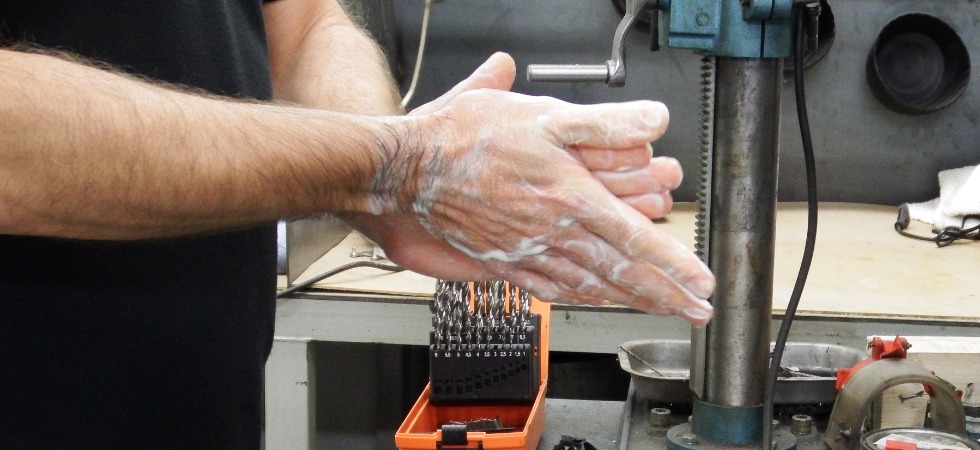 Industrial hand care has never been so important