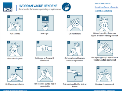 a guide on how to wash your hands correctly