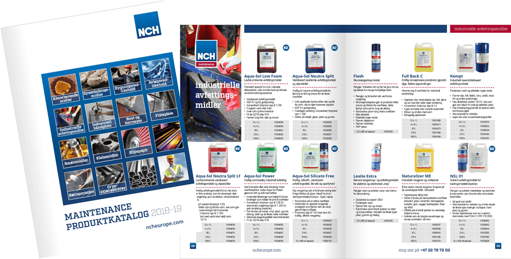 norwegian product catalogue