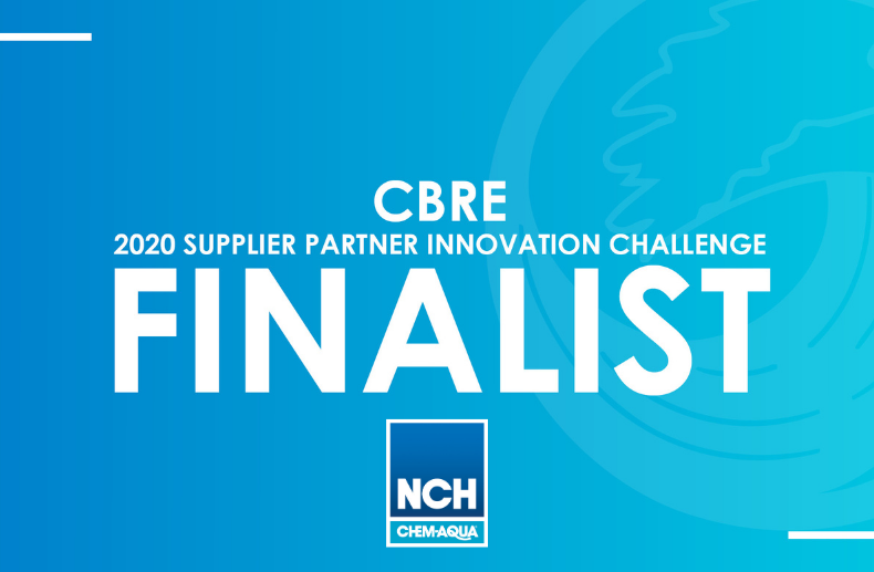 Chem-Aqua Named Finalist in 2020 CBRE Innovation Challenge
