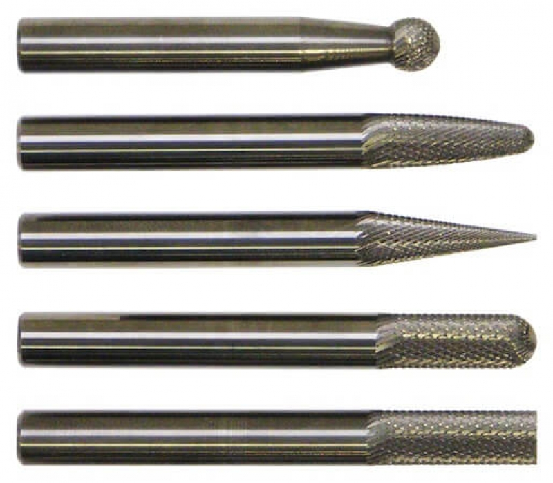 Cryo Negative Rake Finishing Burr