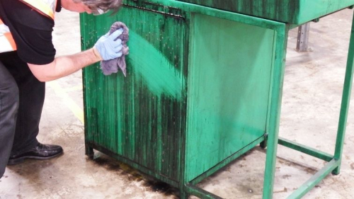 The importance of degreasing before disinfecting i...